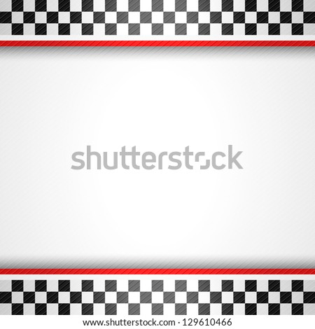 Racing square background, vector illustration template 10eps - stock vector