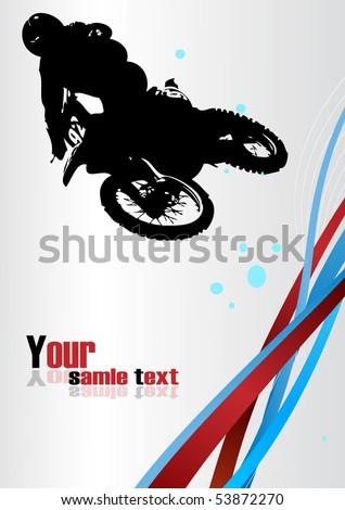 Racing vector. Clip-art - stock vector
