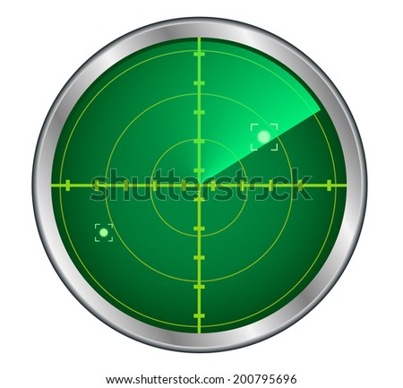Radar - stock vector