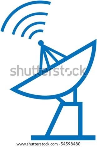 Radar translation â?? Vector illustration - stock vector