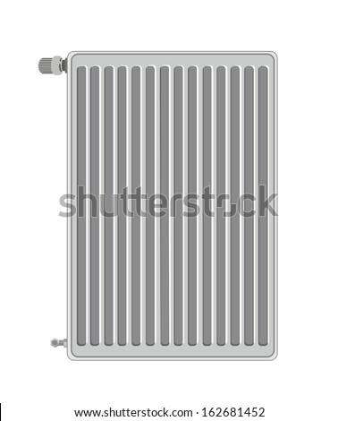 Radiator - stock vector