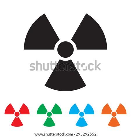 Radioactive sign - stock vector