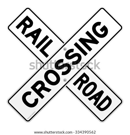 railroad crossing sign stock images royaltyfree images