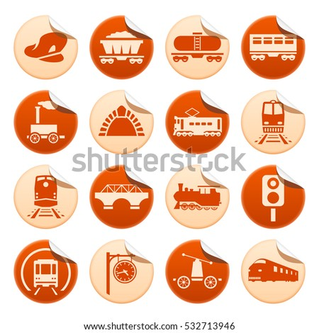 Railway stickers