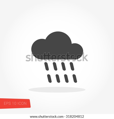 Rain Icon / Rain Icon Path / Rain Icon Image / Rain Icon Graphic / Rain Icon Object / Rain Icon File / Rain Icon Art / Rain Icon UI / Rain Icon JPG / Rain Icon JPEG / Rain Icon EPS / Rain Icon AI - stock vector