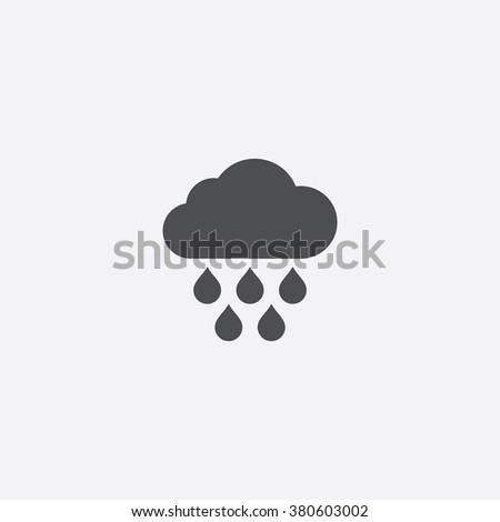 rain Icon. rain Icon Vector. rain Icon Art. rain Icon eps. rain Icon Image. rain Icon logo. rain Icon Sign. rain Icon Flat. rain Icon design. rain icon app. rain icon UI. rain icon web. rain icon gray - stock vector