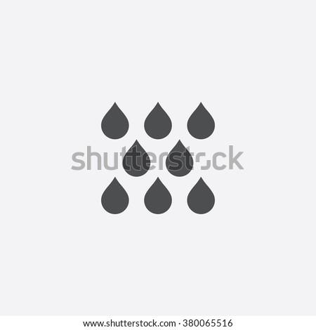 rain Icon Vector. rain Icon Art. rain Icon Picture. rain Icon Image. rain Icon logo. rain Icon Sign. rain Icon Flat. rain Icon design. rain icon app. rain vector design. card icon illustration vector - stock vector