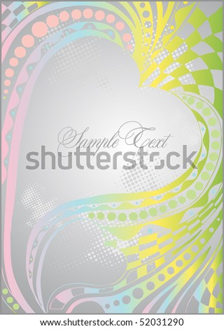 rainbow-colored background - stock vector