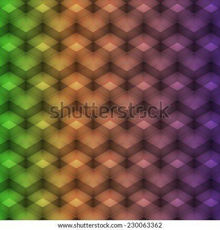rainbow geometric pattern. abstract background for your creativity. Vector illustration - stock vector