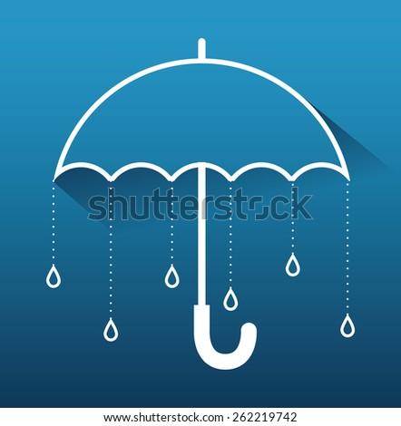 Rainy season design, vector illustration. - stock vector