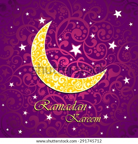Ramadan greetings islamic greeting card holy stock vector 291745712 ramadan greetings an islamic greeting card for holy month of ramadan kareem vector illustration m4hsunfo
