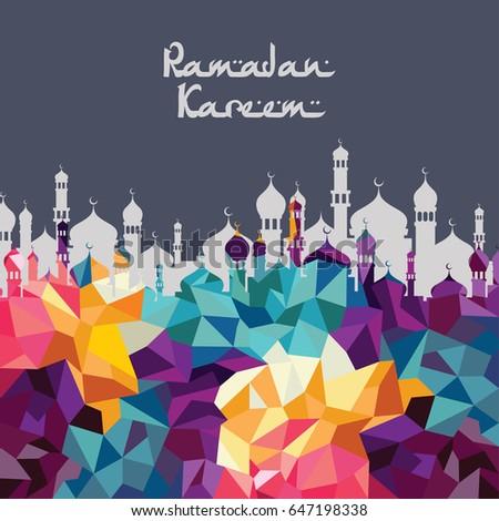 Ramadan kareem islamic muslim greetings stock vector 647198338 ramadan kareem islamic muslim greetings m4hsunfo