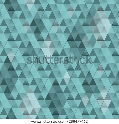 Random triangle background. Seamless pattern.Vector.
