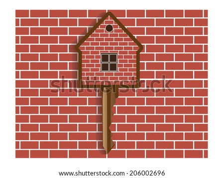 Real estate background.Vector - stock vector