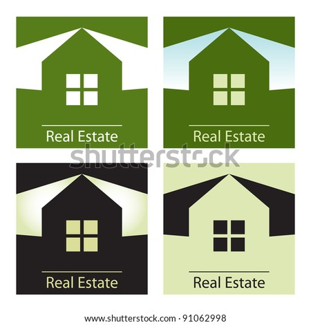Real estate concept designs.