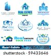 Real Estate Design Elements - Set 1 - stock photo