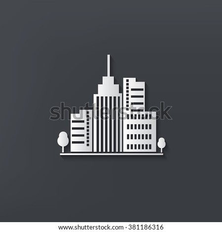 Real estate design on clean background,vector