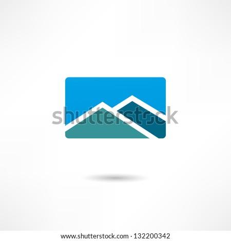 Real estate icon - stock vector