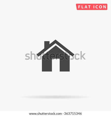Real Estate Icon Vector.  - stock vector