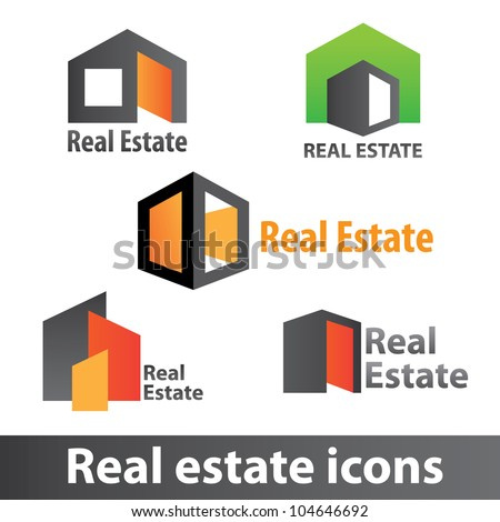 Real estate icons
