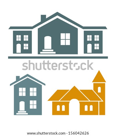 Real estate vector - stock vector