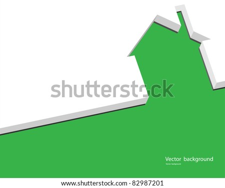 real property - stock vector