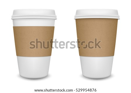 Coffee Cup To Go Vector