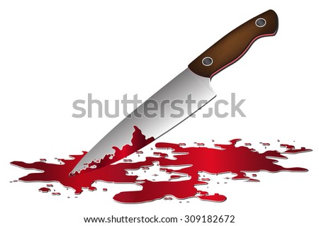realistic bloody knife knife blood vector stock photo photo vector rh shutterstock com Dagger and Heart Clip Art knife with blood clipart