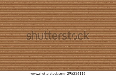 Realistic cardboard texture.Vector illustration. - stock vector