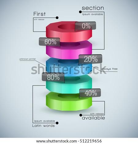 3d Pie Chart Stock Images Royalty Free Images Vectors