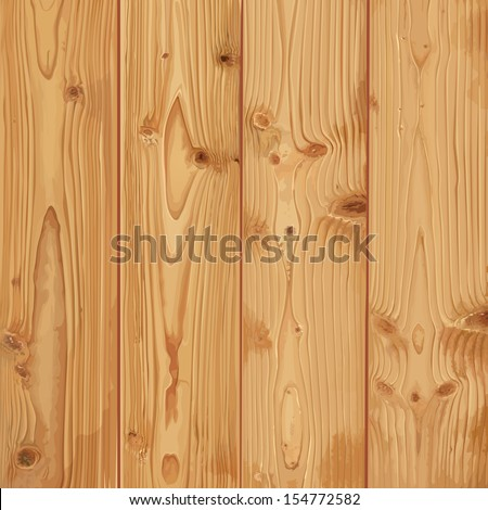 Realistic dark wood texture - stock vector