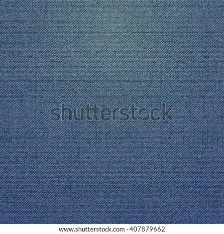 Realistic denim jeans texture, vector - stock vector