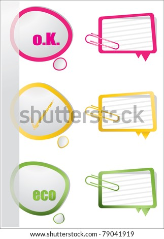 realistic design elements - stock vector