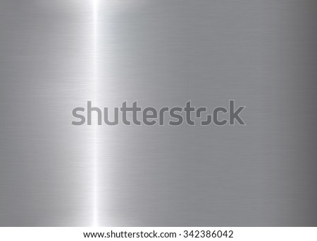 realistic metal texture background. rectangle vector illustration - stock vector