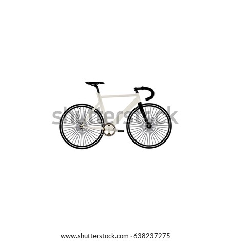 Realistic Track Cycle Element Vector Illustration Stock Vector ...