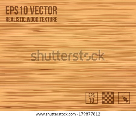 Realistic wood texture. Eps 10. Vector illustration. - stock vector