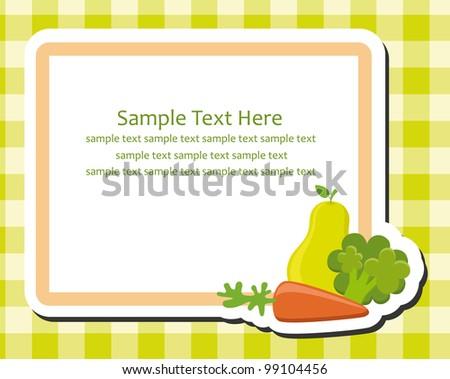 Recipe Card Photos RoyaltyFree Images Vectors Shutterstock – Sample Recipe Card