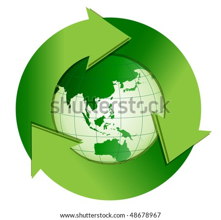 Recycle - stock vector