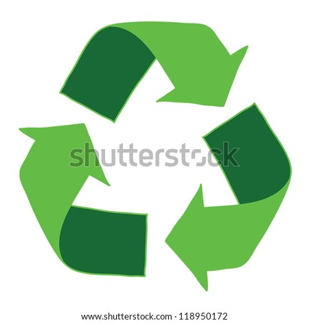 Recycle Logo , eps10, vector - stock vector