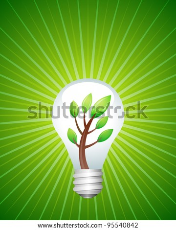 Recycle Series - Green Energy - stock vector