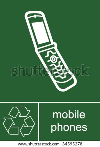 Recoverable stock images royalty free images vectors shutterstock - Recycling mobel ...