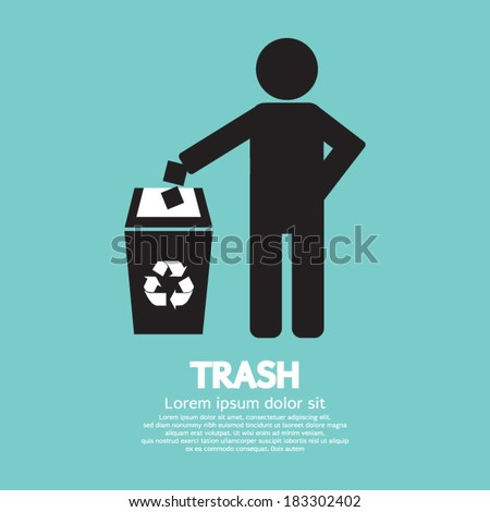 Recycling Vector Illustration - stock vector