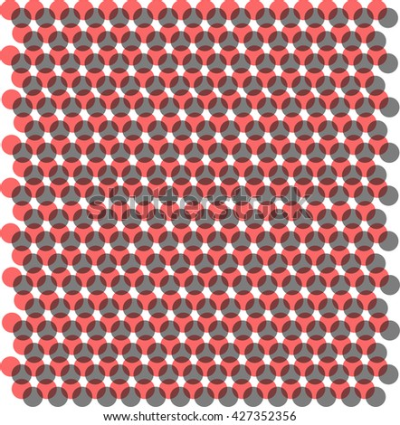 Red and black dots background textures pattern