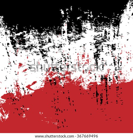 red and black ink splash background, vector illustration design element