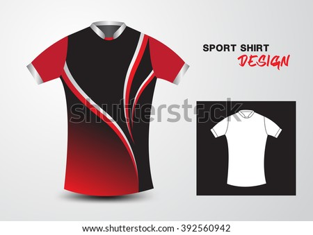 Sports jersey stock images royalty free images vectors for Athletic t shirt design ideas