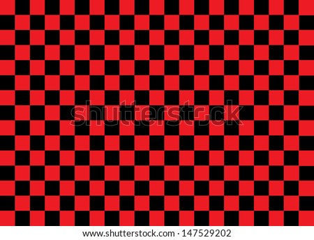 Red and Black Squares. Vector - stock vector