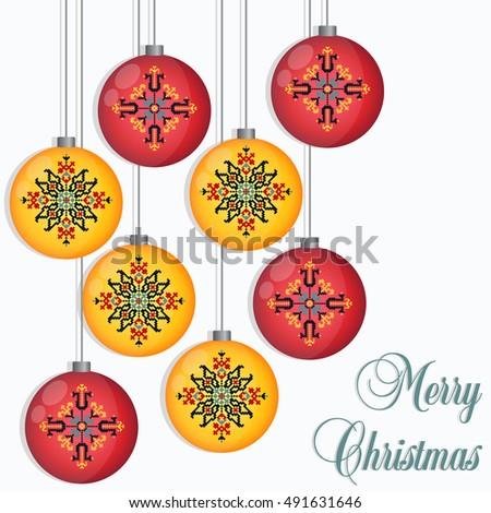 Vector Christmas Light Background Invitation Greeting Stock Vector ...