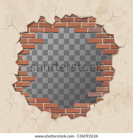 Hole In Wall Stock Images Royalty Free Images Amp Vectors