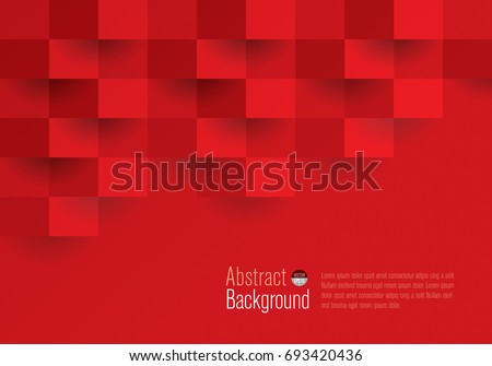 Red geometric texture. Vector background can be used in cover design, book design, website background, CD cover, advertising.