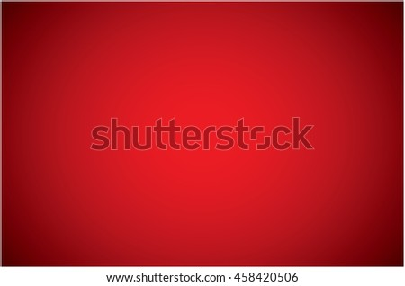 Red gradient backdrop abstract background - stock vector